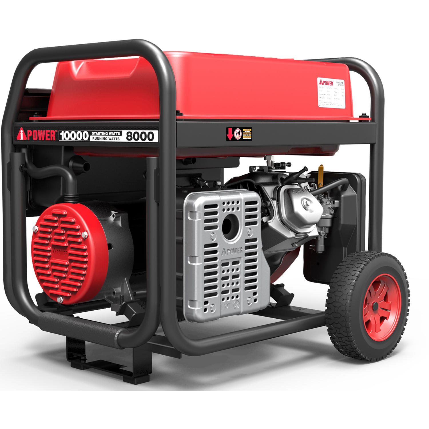 A-iPower AP10000E 10,000-Watt Portable Generator with Electric Start