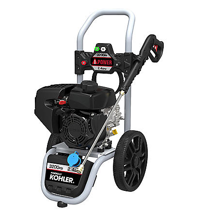 A-iPower 3,200 PSI Pressure Washer with 2.4 GPM Kohler 196cc OHV Engine