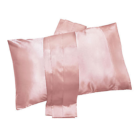 Satin Beauty Pillowcase, Better Hair In Your Sleep, Choose Color and Size (2 pk.)