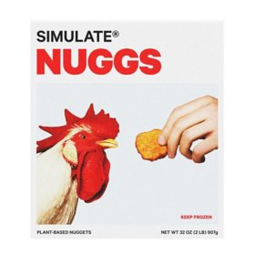 Nuggs Frozen Simulate Plant Based Nuggets (32 oz.)