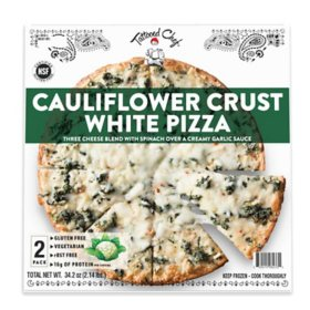 Tattooed Chef Cauliflower White Pizza, Frozen (2 ct.)
