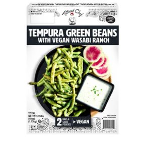 Tattooed Chef Tempura Green Beans with Vegan Wasabi Ranch, Frozen (40 oz.)