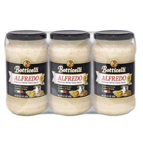 Botticelli Premium Alfredo Pasta Sauce (14.5 oz., 3 pk.)