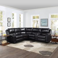 Shelby 3 Piece Reclining Sectional, Assorted Colors