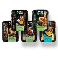 Fresh N' Lean Organic Single-Serve Vegetarian Meals Variety Pack (5 pk.), Delivered to your doorstep