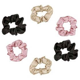 Satin Beauty Satin Hair Scrunchies ( 6 pk.)
