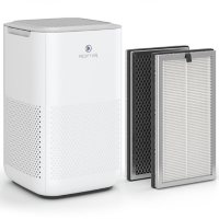 Medify Air MA-15 Purifier, H13 HEPA filter (1 Pack, 1 Extra Filter, White)