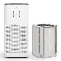 Medify Air MA-50 Purifier, H13 HEPA Filter, + Extra Filter (White)