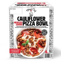 Meatless Meat Lover's Cauliflower Pizza Bowl, Frozen (4 ct.)