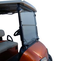 King B EZGO RXV Hinged Golf Car Windshield