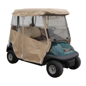 King B Club Car Precedent Golf Car Over the Top Weather Enclosure