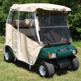 Club Car DS Golf Car Over the Top Weather Enclosure