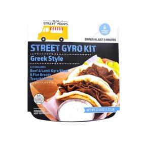 On The Street Foods Gyro Kit (6 ct.)