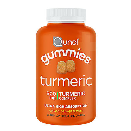 Qunol Turmeric Curcumin Complex Gummies (200 ct.)