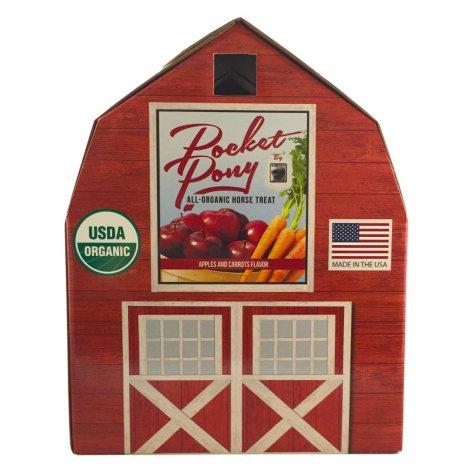 Pocket Pony Apple & Carrot Organic Horse Treats, 44 oz.