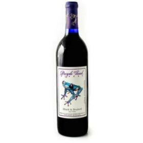 Purple Toad Black & Bruised (750 ml)