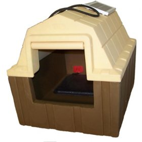 Asl Solutions Insulated Dp Hunter Dog House With Floor Heater And