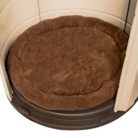"ASL Solutions Fleece Dog Bed for CRB Palace Dog House, 40"" Colossal Sized, Brown"