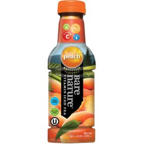 Bare Nature Peach Vitamin Iced Tea (20oz / 12pk)