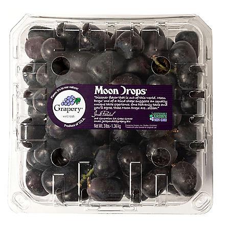 Moon Drop Seedless Grapes (3 lbs.)