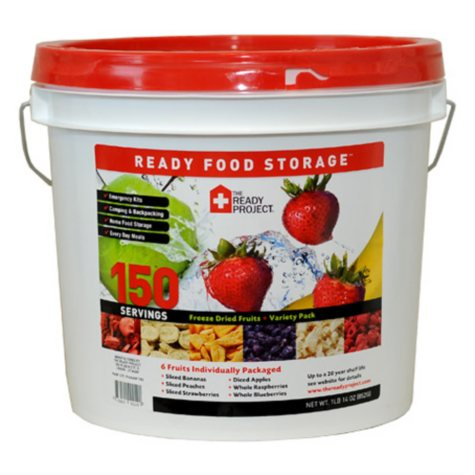 The Ready Project Freeze Dried Fruit Variety Kit