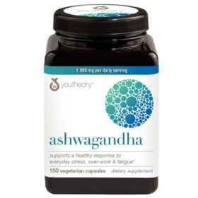Youtheory Ashwagandha (150 ct.)