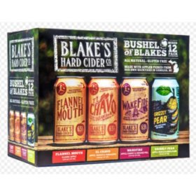Blake's Bushel of Blakes Hard Cider (12 fl. oz. can, 12 pk.)