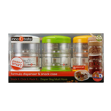 e41bd3e2bb50 Innobaby Packin' SMART Stackable On the Go Storage, Formula ...