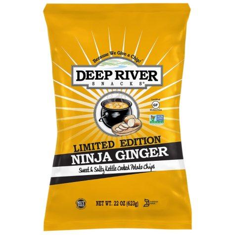 Deep River Snacks Ninja Ginger Kettle Chips (22 oz.)