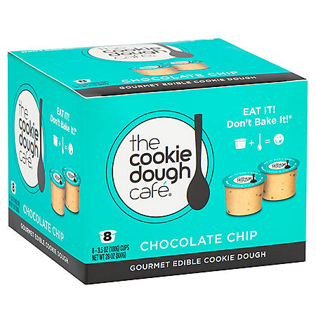 Chocolate Chip Edible Cookie Dough (3.5 oz. cups, 8 pk.)
