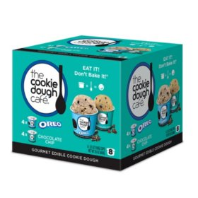 Gourmet Edible Cookie Dough, Single Serve Variety Pack (8 pk.)
