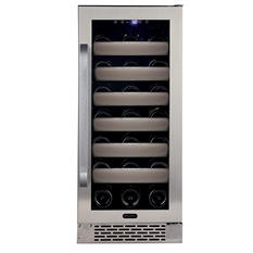 Whynter Elite 33-Bottle Wine Cellar, Stainless Steel