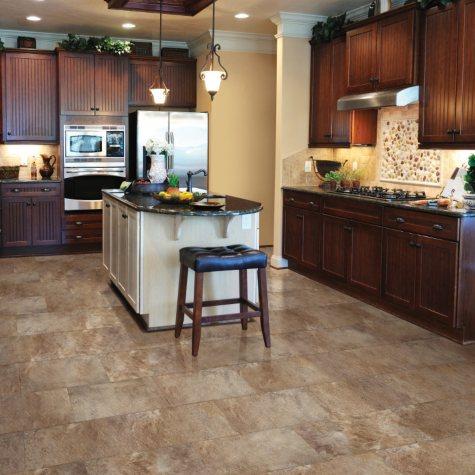 Select Surfaces Click Luxury Vinyl Tile Flooring - Mountain Slate 11.61 sq. ft.