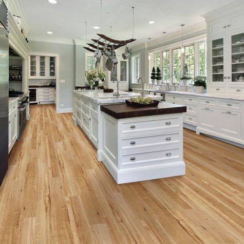 Select Surfaces Click Luxury Vinyl Plank Flooring - Caramel