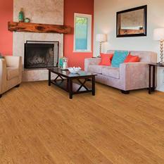 Select Surfaces Laminate Flooring (Auburn Oak)