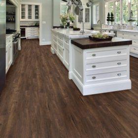 Select Surfaces Chocolate Oak Engineered Vinyl Plank Flooring (4 Boxes)