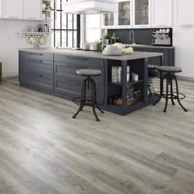 Select Surfaces Harbor Gray Rigid Core Vinyl Plank Flooring