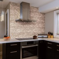 Select Surfaces Copper Peel & Stick Mosaic Wall Tile