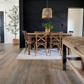 Select Surfaces Boardwalk Spill Defense Laminate Flooring Sam S Club