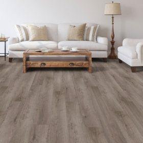 Select Surfaces Modern Gray Laminate Flooring