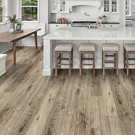 Select Surfaces Sandbank Rigid Core Vinyl Plank Flooring (3 boxes)