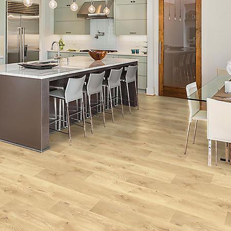 Select Surfaces Blonde Oak Spill Defense Laminate Flooring
