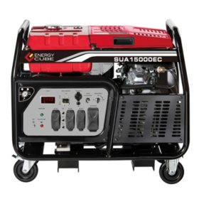 A-iPower 12,000 / 15,000 Watt Heavy Duty Gasoline Generator with Electric Start (CARB Compliant)