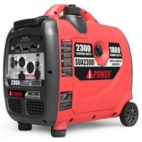 A-iPower SUA2300i Ultra-Quiet Inverter Generator with Mobility Kit - CARB Compliant