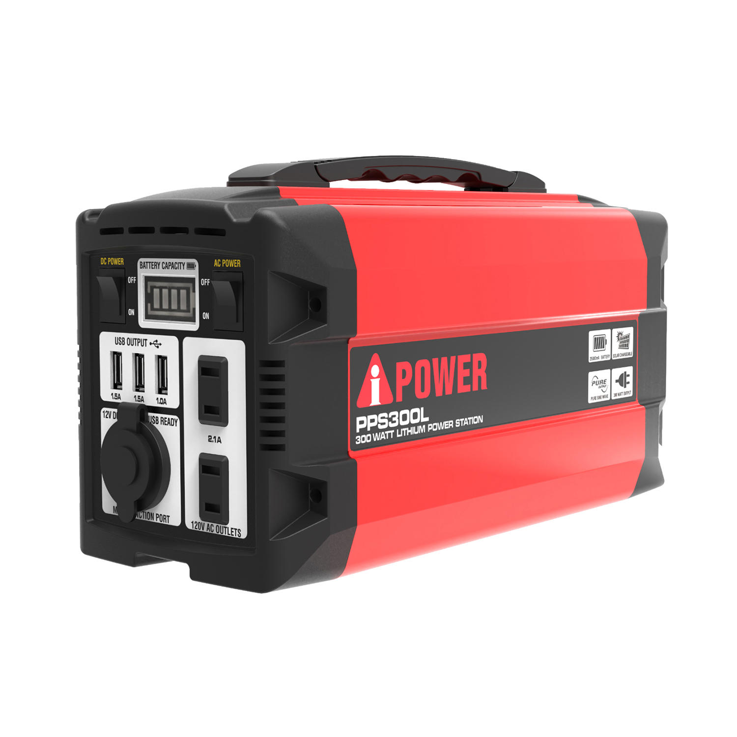 A-iPower PPS300L 300 Watt Lithium Power Supply