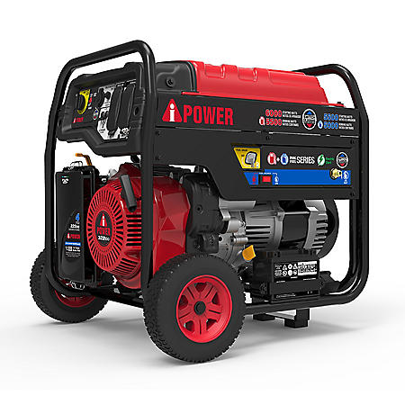 A-iPower 6000 Watt Dual Fuel Generator