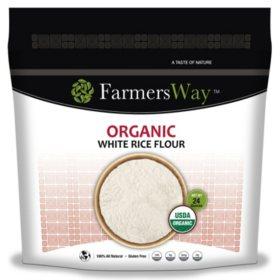 Farmers Way Organic White Rice Flour (24 oz.)