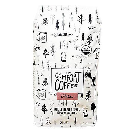 Mount Comfort Peru Whole Bean Coffee (2.5 lb.)