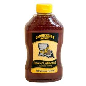 Carmichael's Raw & Unfiltered Honey (40 oz.)