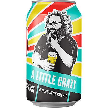 Revolution A Little Crazy Pale Ale (12 fl. oz. can, 6 pk.)